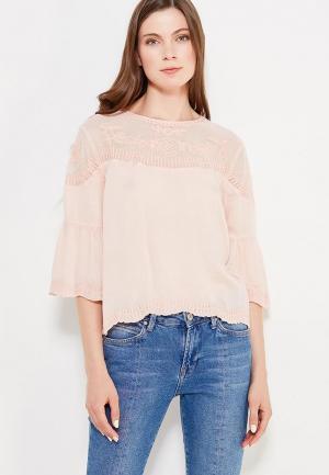 Блуза Pepe Jeans. Цвет: розовый