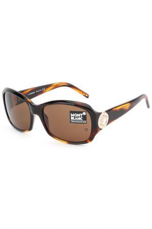 Солнцезащитные очки Montblanc. Цвет: none