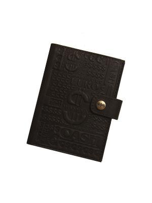 Бумажник водителя Кажан. Цвет: темно-коричневый