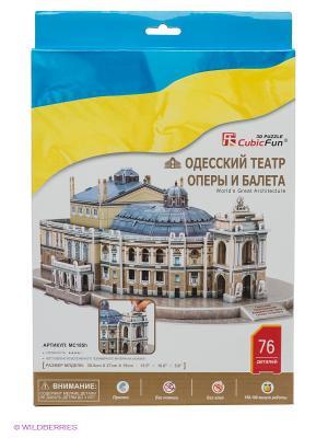 Одесский театр оперы и балета CubicFun. Цвет: серый, голубой