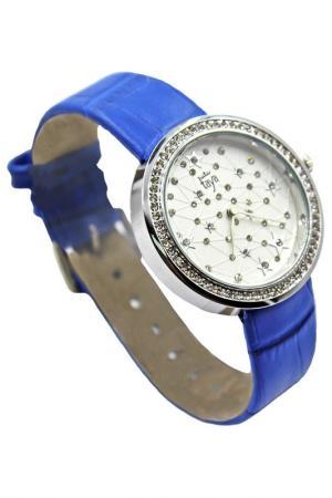 Часы Taya. Цвет: серебристый, темно-синий