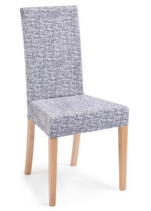 Чехол для стула Мальта (белый/черный) bonprix. Цвет: белый/черный