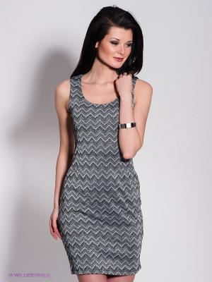 Платье Acasta. Цвет: серый