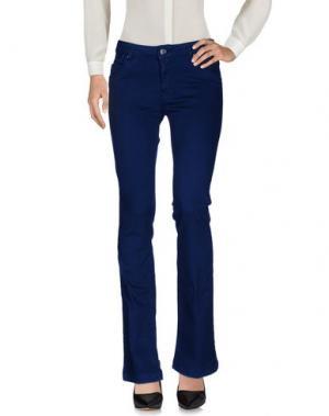 Повседневные брюки KOCCA. Цвет: синий