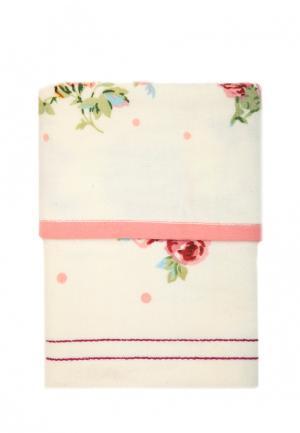 Комплект полотенец 2 шт. La Pastel. Цвет: белый