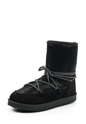 Полусапоги Fashion & Bella. Цвет: черный