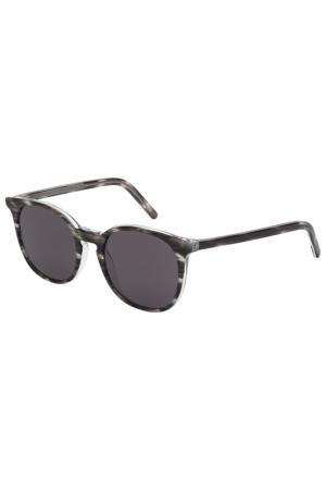 Солнцезащитные очки Tomas Maier. Цвет: 002