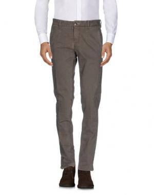 Повседневные брюки ONE SEVEN TWO. Цвет: хаки