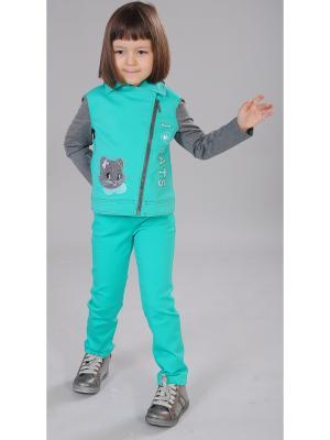 Куртка Милашка Сьюзи. Цвет: зеленый