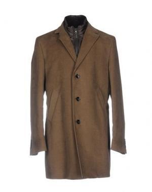 Пальто MANUEL RITZ. Цвет: хаки