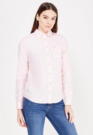 Рубашка Fred Perry. Цвет: розовый