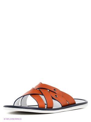 Пантолеты MILANA. Цвет: оранжевый