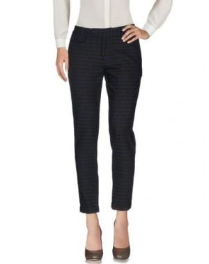 Повседневные брюки TRUE TRADITION. Цвет: темно-коричневый