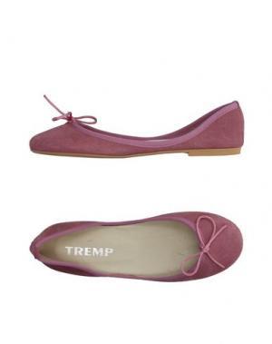 Балетки TREMP. Цвет: пастельно-розовый
