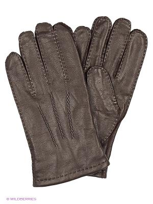 Перчатки Alfred Muller. Цвет: коричневый