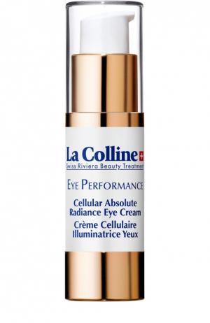 Крем для контура глаз с клеточным комплексом Cellular Absolute Radiance Eye Cream La Colline. Цвет: бесцветный