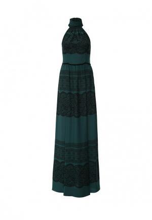 Платье Sahera Rahmani. Цвет: зеленый