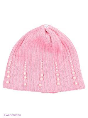 Шапка Agbo. Цвет: розовый