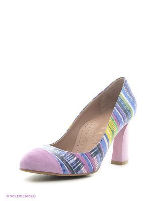 Туфли ALLORA. Цвет: фиолетовый