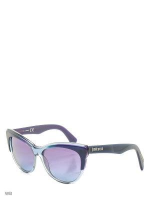 Солнцезащитные очки JC 657S 89Z Just Cavalli. Цвет: морская волна