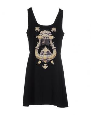 Короткое платье ANT PITAGORA. Цвет: черный