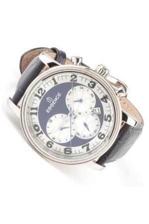 Наручные часы Essence. Цвет: стальной, синий