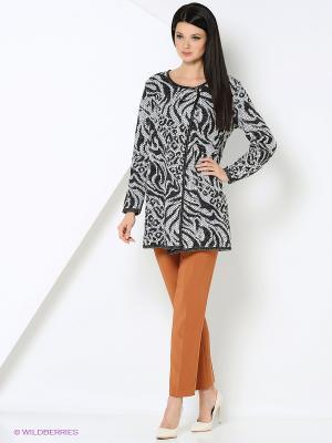 Кардиган Milana Style. Цвет: черный