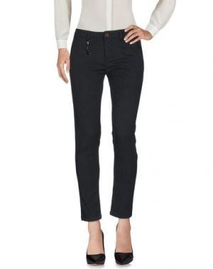 Повседневные брюки YAN SIMMON. Цвет: темно-синий