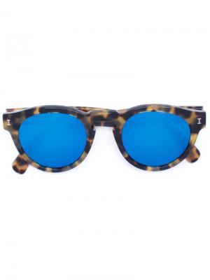Солнцезащитные очки  Leonard C.62 Illesteva. Цвет: коричневый
