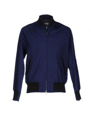 Куртка CLUB MONACO. Цвет: синий