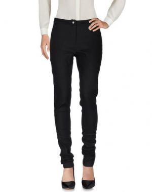 Повседневные брюки ANN DEMEULEMEESTER. Цвет: черный