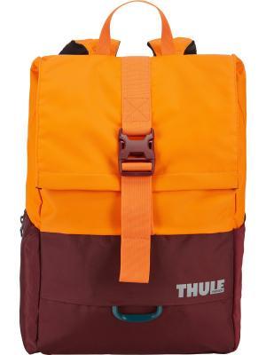 Рюкзак Thule Departer для 13 PC 23л (DARK BORDEAUX/VIBRANT ORANGE). Цвет: темно-бордовый, оранжевый