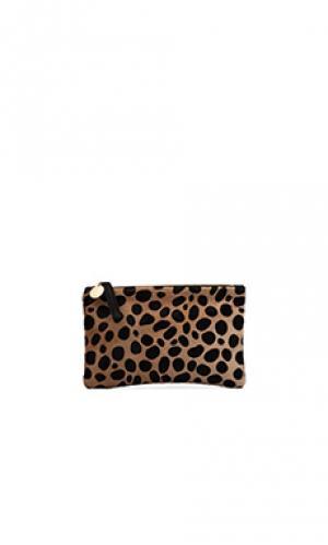 Косметичка wallet Clare V.. Цвет: коричневый