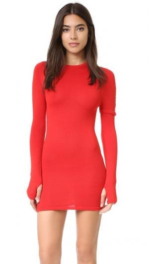 Мини-платье Jacquemus. Цвет: красный