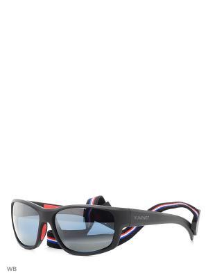 Солнцезащитные очки VL 1521 0001 BLUE POLARLYNX Vuarnet. Цвет: черный