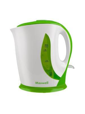Чайник электрический Maxwell MW-1062(G). Цвет: зеленый