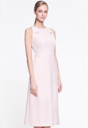 Платье Arefeva. Цвет: розовый