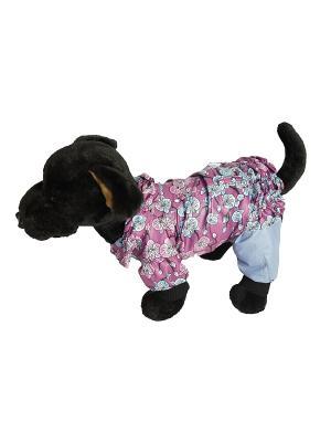 Дождевик Doggy Style. Цвет: розовый