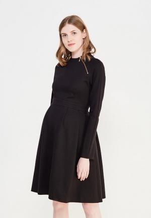 Платье MammySize. Цвет: черный