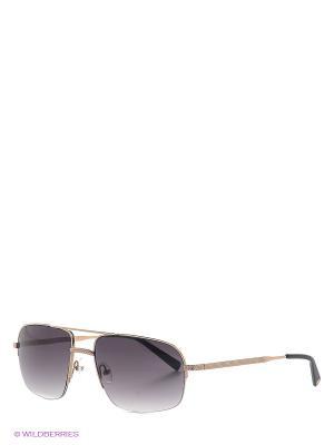 Солнцезашитные очки IS 11-257 01 Enni Marco. Цвет: золотистый, антрацитовый