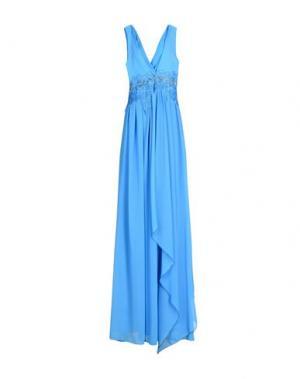 Длинное платье ACCESS. Цвет: лазурный