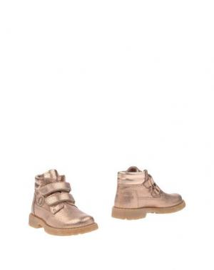 Полусапоги и высокие ботинки WALKEY. Цвет: медный