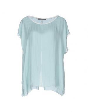 Блузка 19.70 NINETEEN SEVENTY. Цвет: светло-зеленый