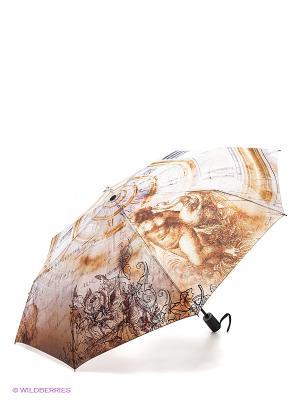 Зонт RAINDROPS. Цвет: бежевый