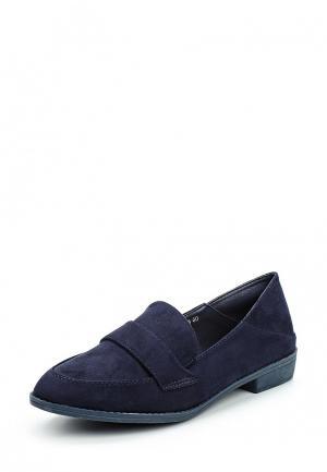 Лоферы Max Shoes. Цвет: синий