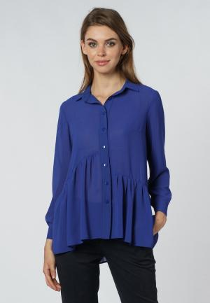 Блуза OKS by Oksana Demchenko. Цвет: синий