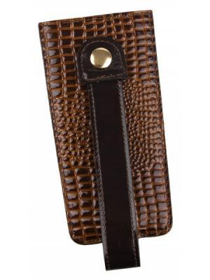 Футляр для ключей Constanta. Цвет: коричневый