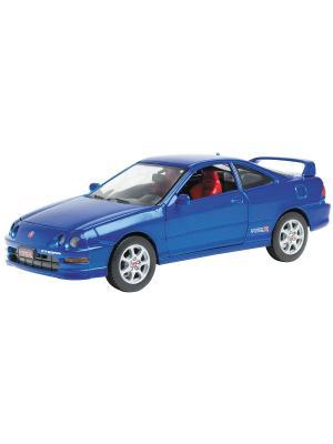 Машинка ACURA INTEGRA TYPE-R 2000 AUTOTIME. Цвет: синий, серебристый, черный
