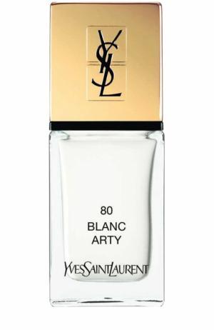 Лак для ногтей La Laque Couture, оттенок 80 YSL. Цвет: бесцветный