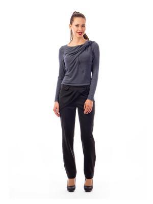 Блуза D.VA. Цвет: темно-серый